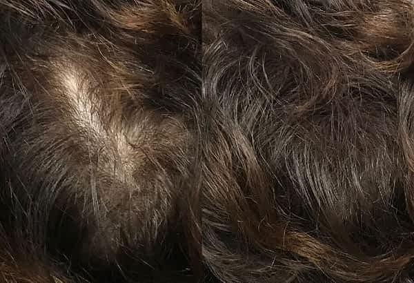 hairfibers voor na scheiding voller maken haarvezels boev